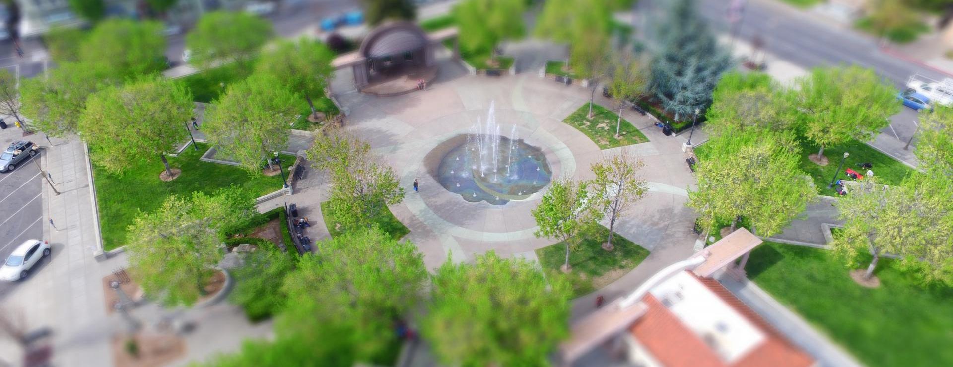 City Plaza aerial